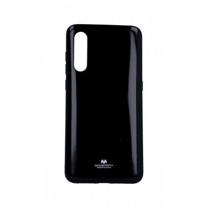 Zadný silikónový kryt Mercury Jelly Case na Xiaomi Mi 9 čierny