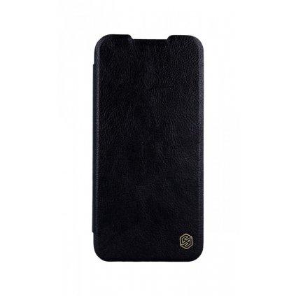 Flipové puzdro Nillkin Qin na Xiaomi Redmi 7 kožené čierne