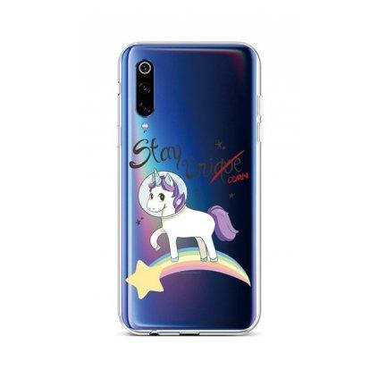 Zadný silikónový kryt na Xiaomi Mi 9 Stay Unicorn