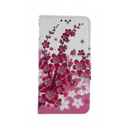 Flipové puzdro na Xiaomi Redmi 4X Kvety textil