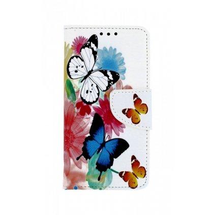 Flipové puzdro na Xiaomi Redmi 4X Farebné s motýlikmi