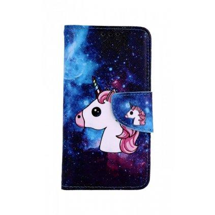 Flipové puzdro na Xiaomi Redmi 4X Space Unicorn