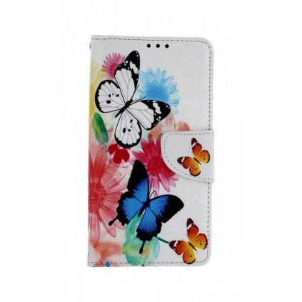Flipové puzdro na Xiaomi Redmi Note 4 Global Farebné s motýlikmi