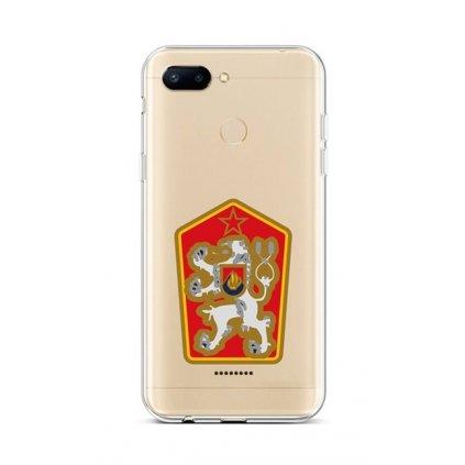 Zadný silikónový kryt na Xiaomi Redmi 6 Štátny znak