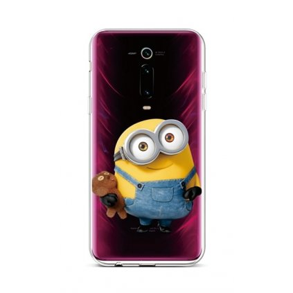 Zadný silikónový kryt na Xiaomi Mi 9T Minion Kid