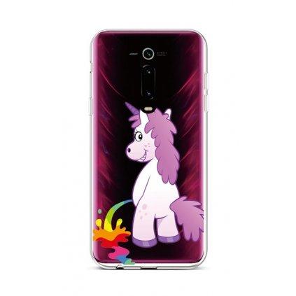 Zadný silikónový kryt na Xiaomi Mi 9T Rude Unicorn