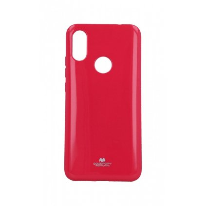 Zadný silikónový kryt Mercury Jelly Case na Xiaomi Redmi 7 ružový