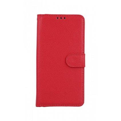 Flipové puzdro na Xiaomi Mi 9T červené s prackou
