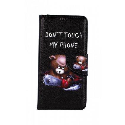 Flipové puzdro na Xiaomi Mi A3 Dont Touch macko