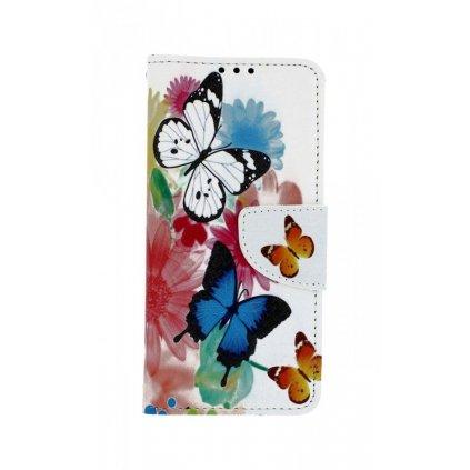 Flipové puzdro na Xiaomi Mi 9 SE Farebné s motýlikmi