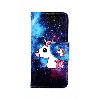 Flipové puzdro na Xiaomi Mi 9 SE Space Unicorn