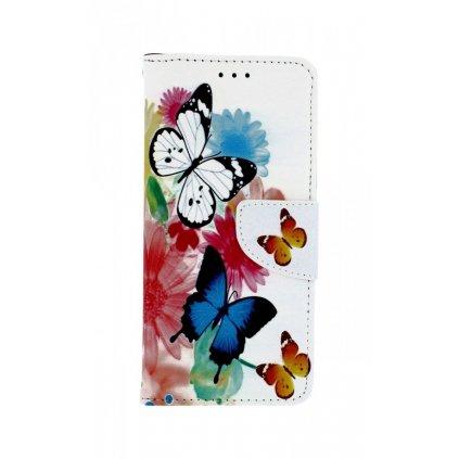 Flipové puzdro na Xiaomi Mi A2 Farebné s motýlikmi