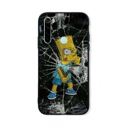 Zadný pevný kryt LUXURY na Xiaomi Redmi Note 8 Bart Simpson