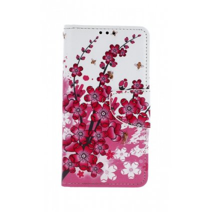 Flipové puzdro na Xiaomi Redmi 7A Kvety textil