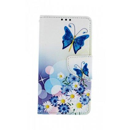 Flipové puzdro na Xiaomi Redmi 7A Biele s motýlikom
