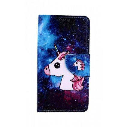 Flipové puzdro na Xiaomi Redmi 7A Space Unicorn