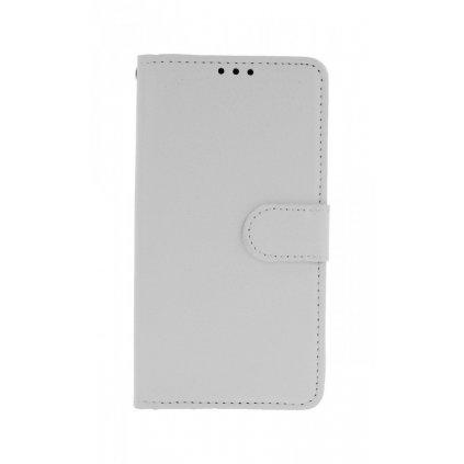 Flipové puzdro na Xiaomi Redmi 7A biele s prackou