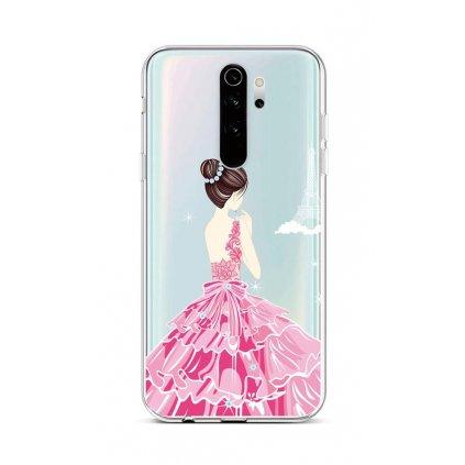 Zadný silikónový kryt na Xiaomi Redmi Note 8 Pro Pink Princess