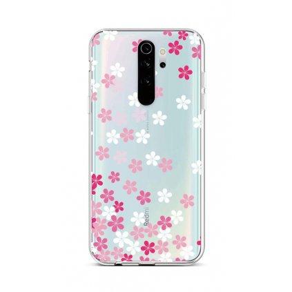 Zadný silikónový kryt na Xiaomi Redmi Note 8 Pro Pink Blossom