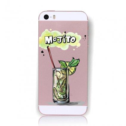 Zadný kryt na iPhone 5 / 5s / SE Mojito