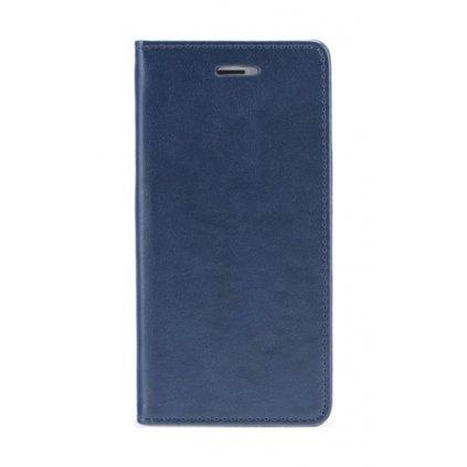 Flipové puzdro Magnet Book na iPhone 7 Plus tmavo modré