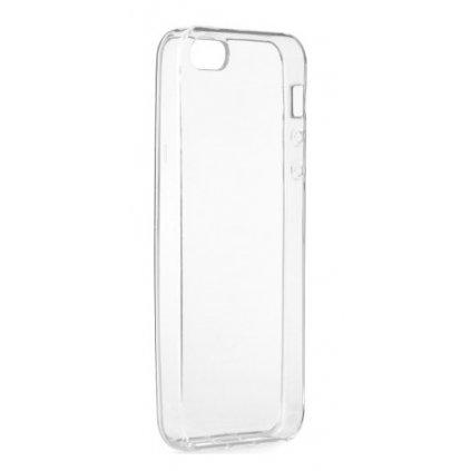 Ultratenký silikónový kryt na iPhone 5 / 5s / SE 0,5 mm priehľadný