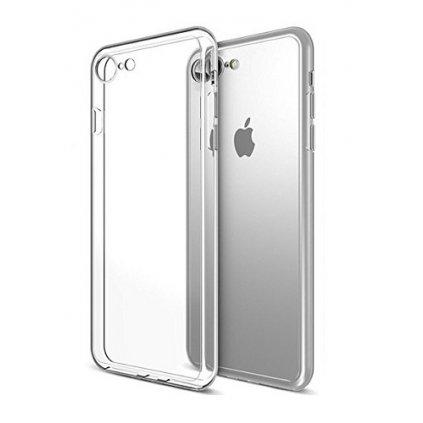 Ultratenký silikónový kryt na iPhone 7 0,5 mm priehľadný