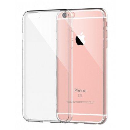 Ultratenký silikónový kryt na iPhone 6 0,5 mm priehľadný