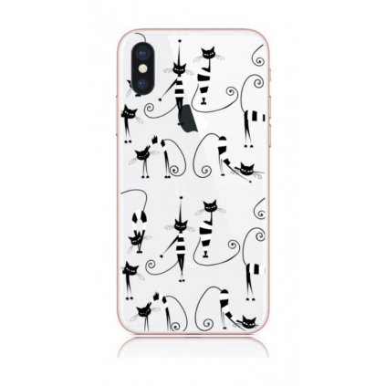 Zadný kryt na iPhone X Cats 1