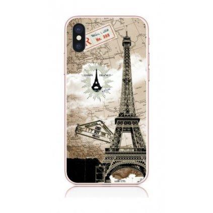 Zadný kryt na iPhone X Paris 2