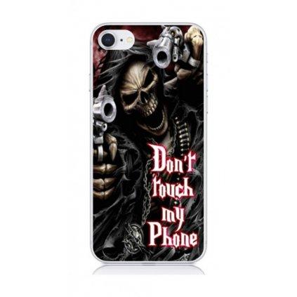 Zadný kryt na iPhone 8 Smrťák