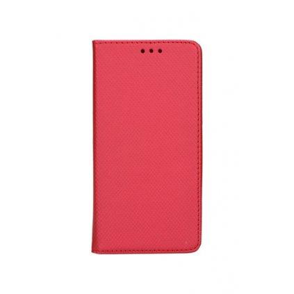 Flipové puzdro Smart Magnet na iPhone X červené