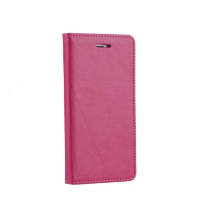 Flipové puzdro Magnet Book na iPhone X ružové