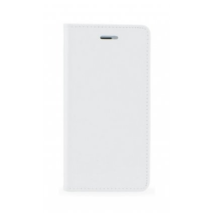 Flipové puzdro Magnet Book na iPhone X biely