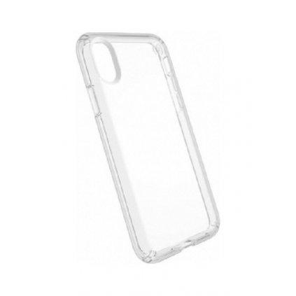 Ultratenký silikónový kryt na iPhone X 0,5 mm priehľadný