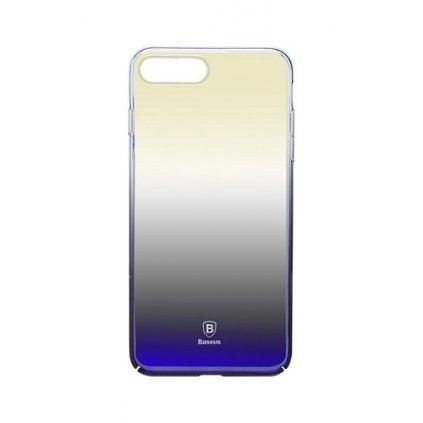 Zadný pevný kryt Baseus Glaze na iPhone 7 fialový