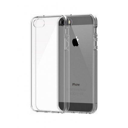 Zadný kryt Swissten Clear Jelly na iPhone 5 / 5s / SE priehľadný