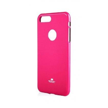 Zadný silikónový kryt Mercury Jelly Case na iPhone 8 ružový