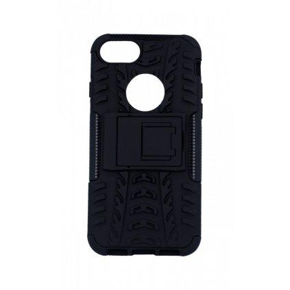Zadný kryt na iPhone 8 čierny so stojanom