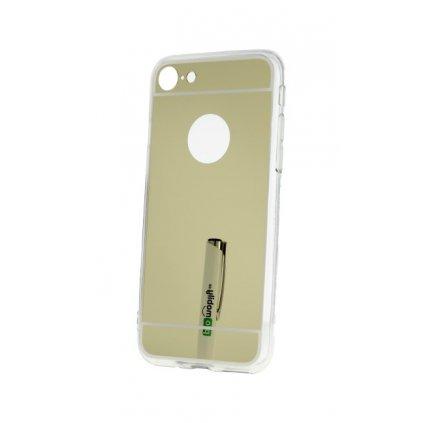 Zadný Zrkadlový kryt na iPhone 8 zlatý