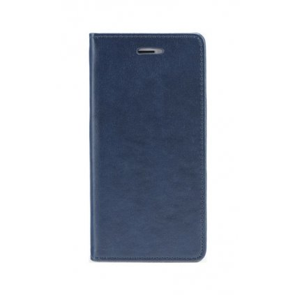 Flipové puzdro Magnet Book na iPhone 8 Plus tmavo modré