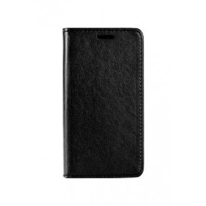 Flipové puzdro Magnet Book na iPhone 8 Plus čierne