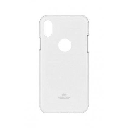 Zadný kryt Mercury Jelly Case na iPhone X biely