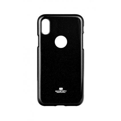 Zadný kryt Mercury Jelly Case na iPhone X čierny