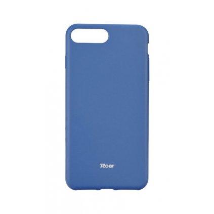 Zadný silikónový kryt Roar na iPhone 8 Plus modrý