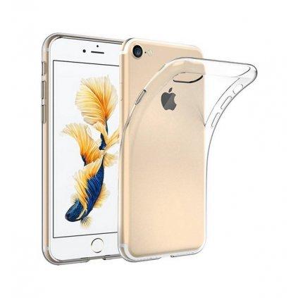 Ultratenký silikónový kryt na iPhone 8 0,5 mm priehľadný