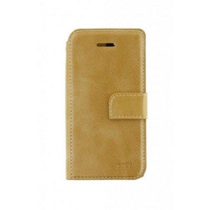 Flipové puzdro Molano Cano Issue Diary na iPhone 7 Plus zlaté