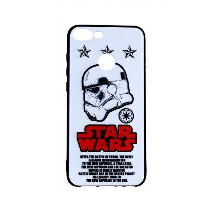 Zadný 3D silikónový kryt na Honor 9 Lite Star Wars