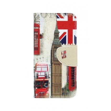 Flipové puzdro na Honor 9 Lite Londýn