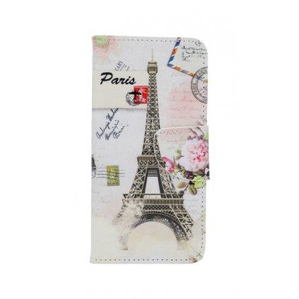 Flipové puzdro na Honor 9 Lite Eiffelova veža